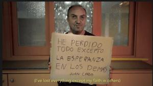 Una de las imágenes del video de la campaña