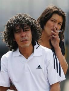 Fidel Cabello y Lina Ortiz , Fuente AP