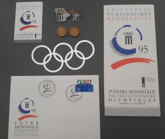 1995 Lausanne documents de la foire olympique