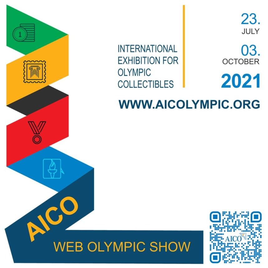 Exposition internationale d'objets olympiques AICO lancement AIWOS 2021