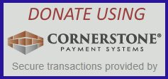 Donate Today via Cornerstone