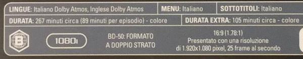 E' di Koch Media il primo Blu-ray con audio Dolby Atmos italiano