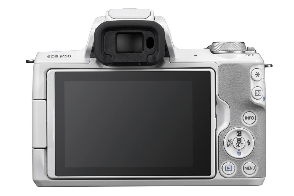 Canon annuncia la mirrorless EOS M50
