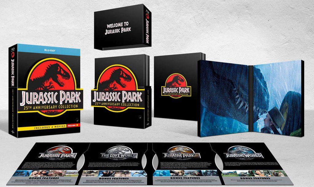 Jurassic Park 25th cofanetto