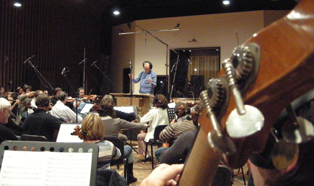 recording orchestra morricone