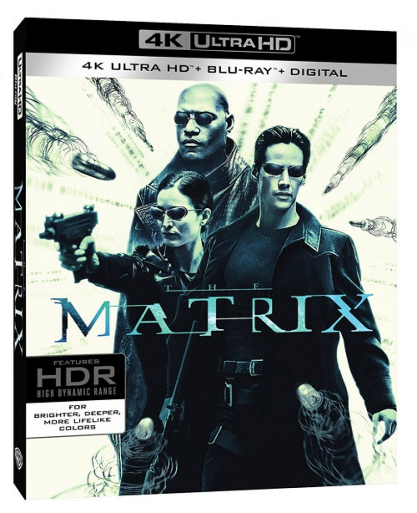 Matrix in Ultra HD Blu-ray tra HDR10, Dolby Vision e Dolby Atmos!