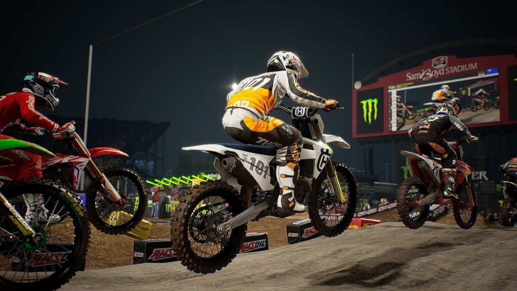 Monster Energy Supercross 2 – Home Theater Test Xbox One X