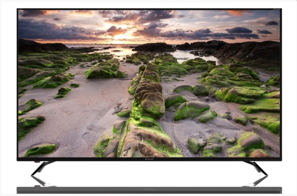 Sharp: che ne dite di un TV 4K-HDR da 70'' a 1299 euro?
