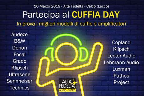 Cuffia Day: le top di gamma in demo nel lecchese
