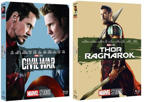 10 anni di Marvel Studios: repack celebrativi e nuovi Blu-ray Ultra HD annunciati