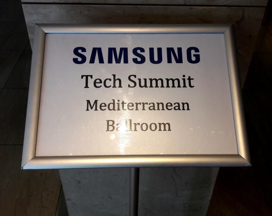 Samsung Tech Seminar – Barcellona