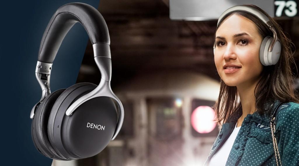 Tris di cuffie per Denon…e spunta la cancellazione del rumore