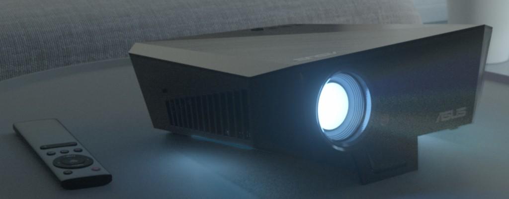 Asus F1: proiettore LED Full HD a tiro corto per gaming e ufficio