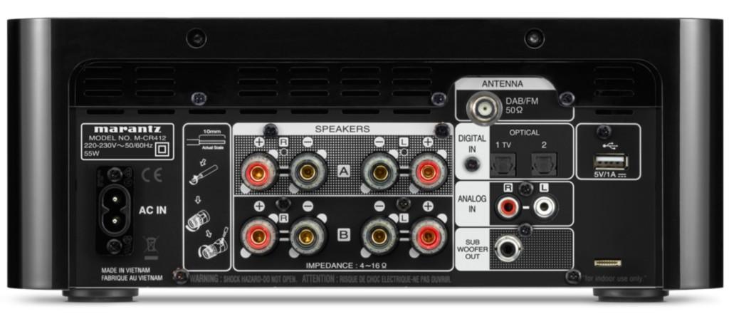 Marantz Melody M-CR412: il micro hi-fi che ha quasi tutto