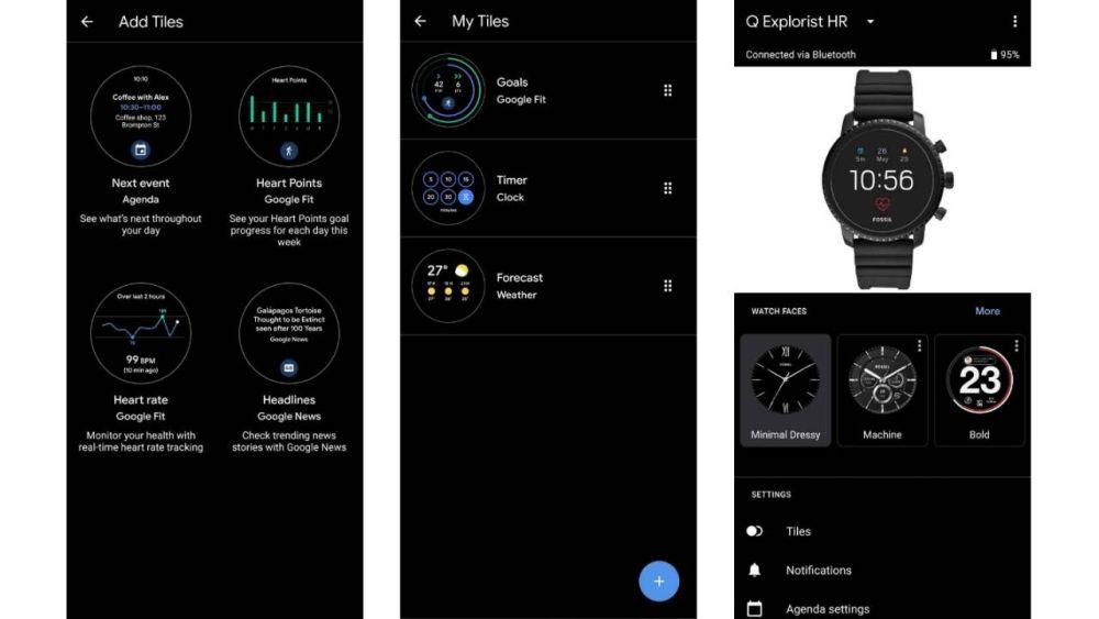Wear OS Tiles ha ora un'app manager per gli smartphone associati