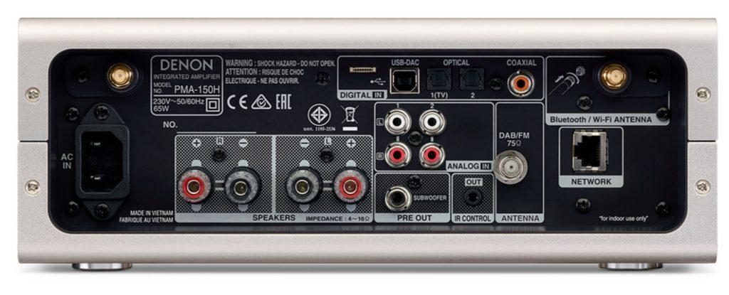 Denon PMA-150H: l'ampli stereo super connesso
