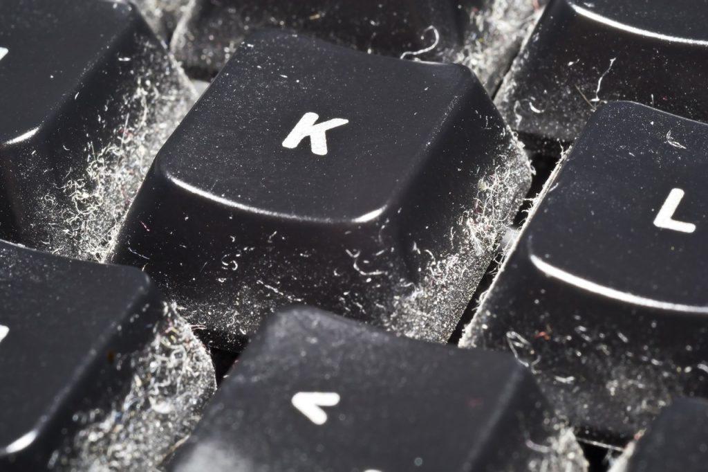 Pulizia tastiera