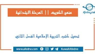 Photo of كتب التربية الإسلامية للابتدائي فصل ثاني 2021