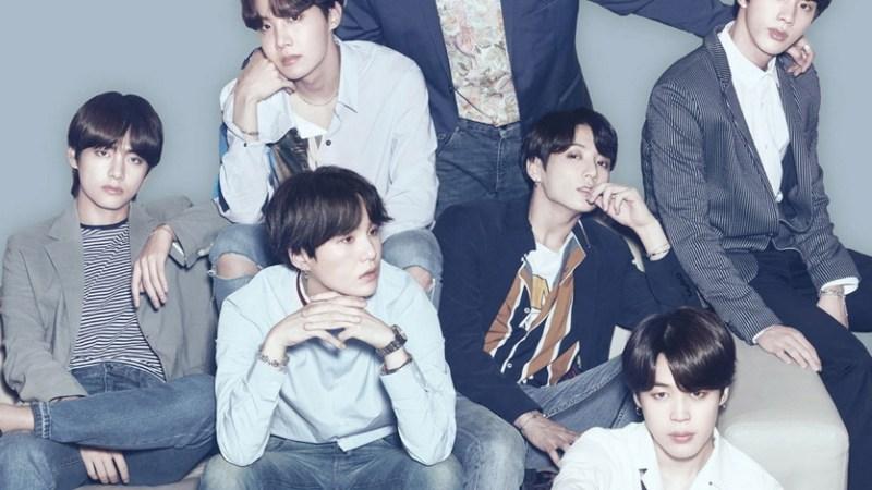 فرقة BTS الكيبوب تحتل المركز الاول 2019