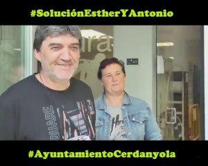 PAH Ripollet-Cerdanyola exigen al Ayuntamiento #SoluciónEstheryAntonio
