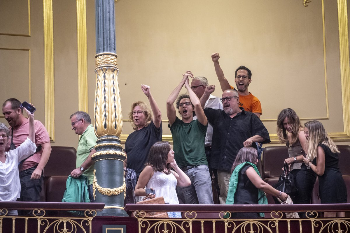 ¡Ya era hora! El Congreso aprueba la toma en consideración de la Ley Vivienda PAH