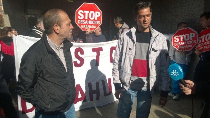 Accion Banco Popular - Stop Desahucios Granada 15M 5