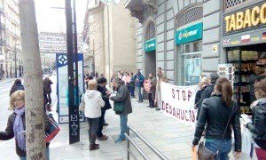 Cajamar. Stop Desahucios Granada 15M