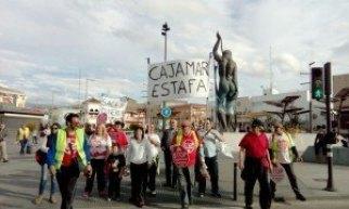 stop desahucios en Armilla. Marcha hacia Almería