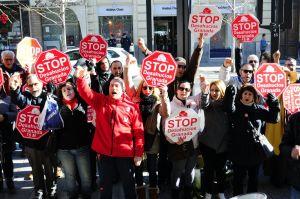 Stop Desahucios en el Santander X