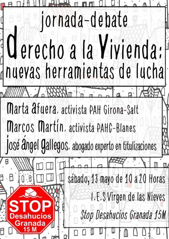 Jornadas Stop Desahucios: Derecho a la vivienda