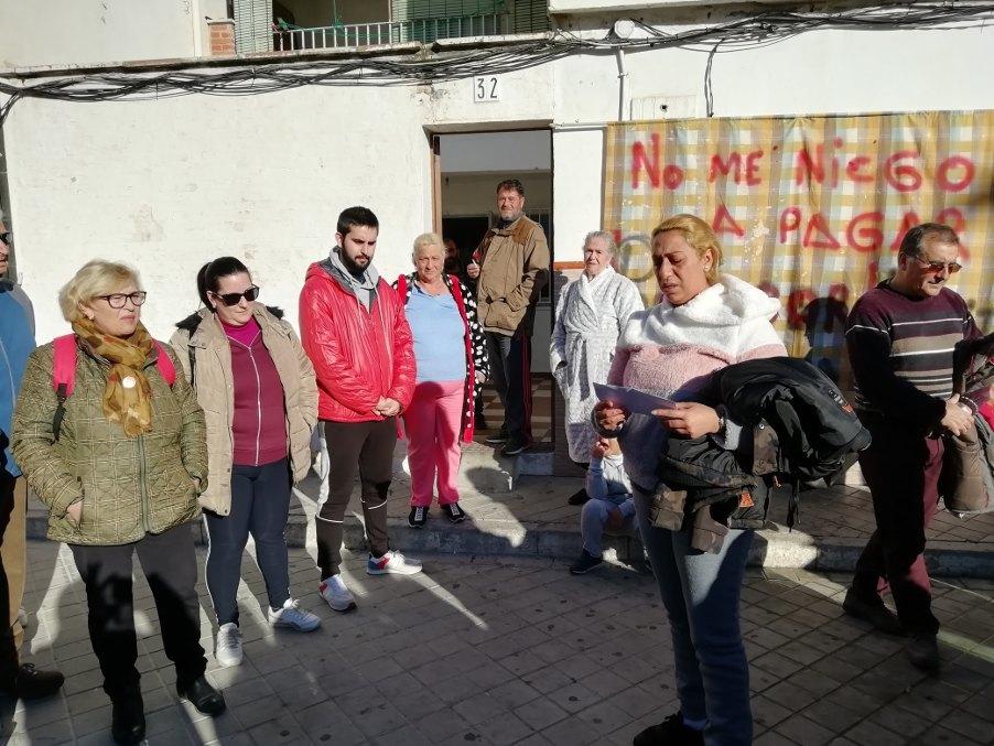 Desahucio suspendido. Stop Desahucios Granada 15M