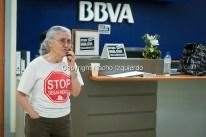 La plataforma Stop Desahucios (Guadalajara, España) se encierra