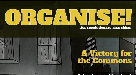 Organise 86 magazine of the Anarchist Federation - Summer 2016