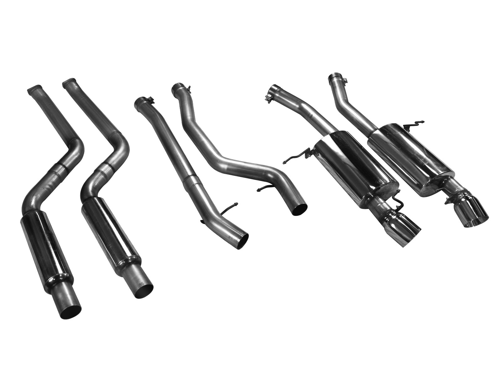 Mach Force Xp 2 3 4 304 Stainless Steel Cat Back Exhaust