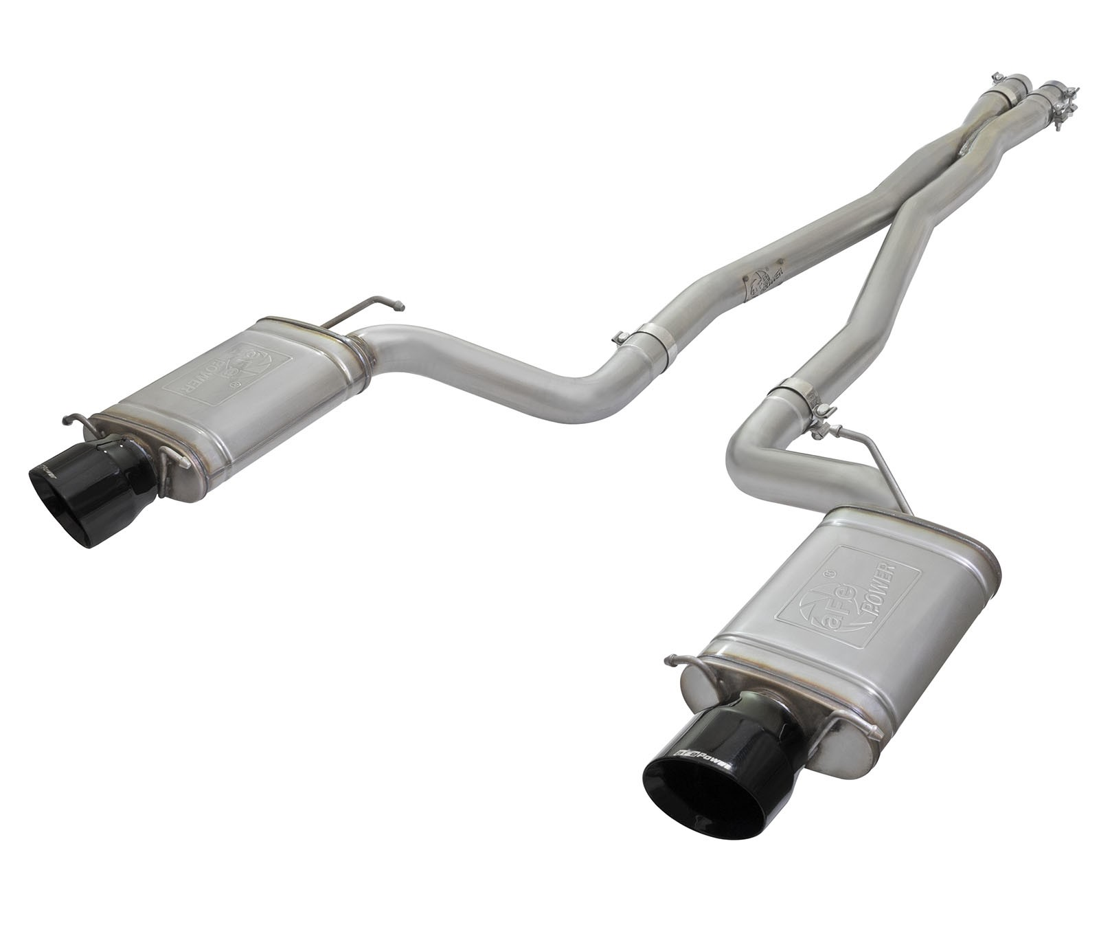 mach force xp 3 in 304 stainless steel cat back exhaust system