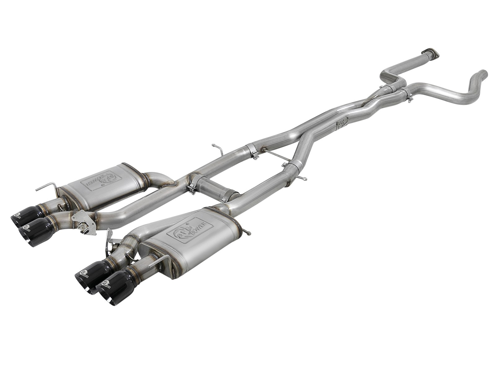 Mach Force Xp 3 304 Stainless Steel Cat Back Exhaust