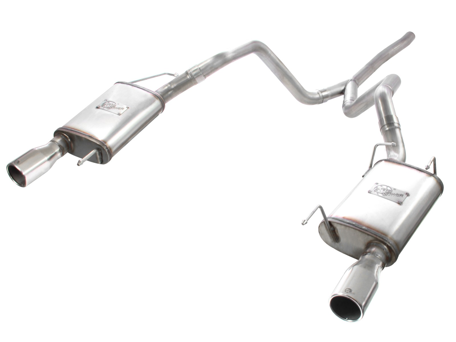 mach force xp 2 1 2 409 stainless steel cat back exhaust system