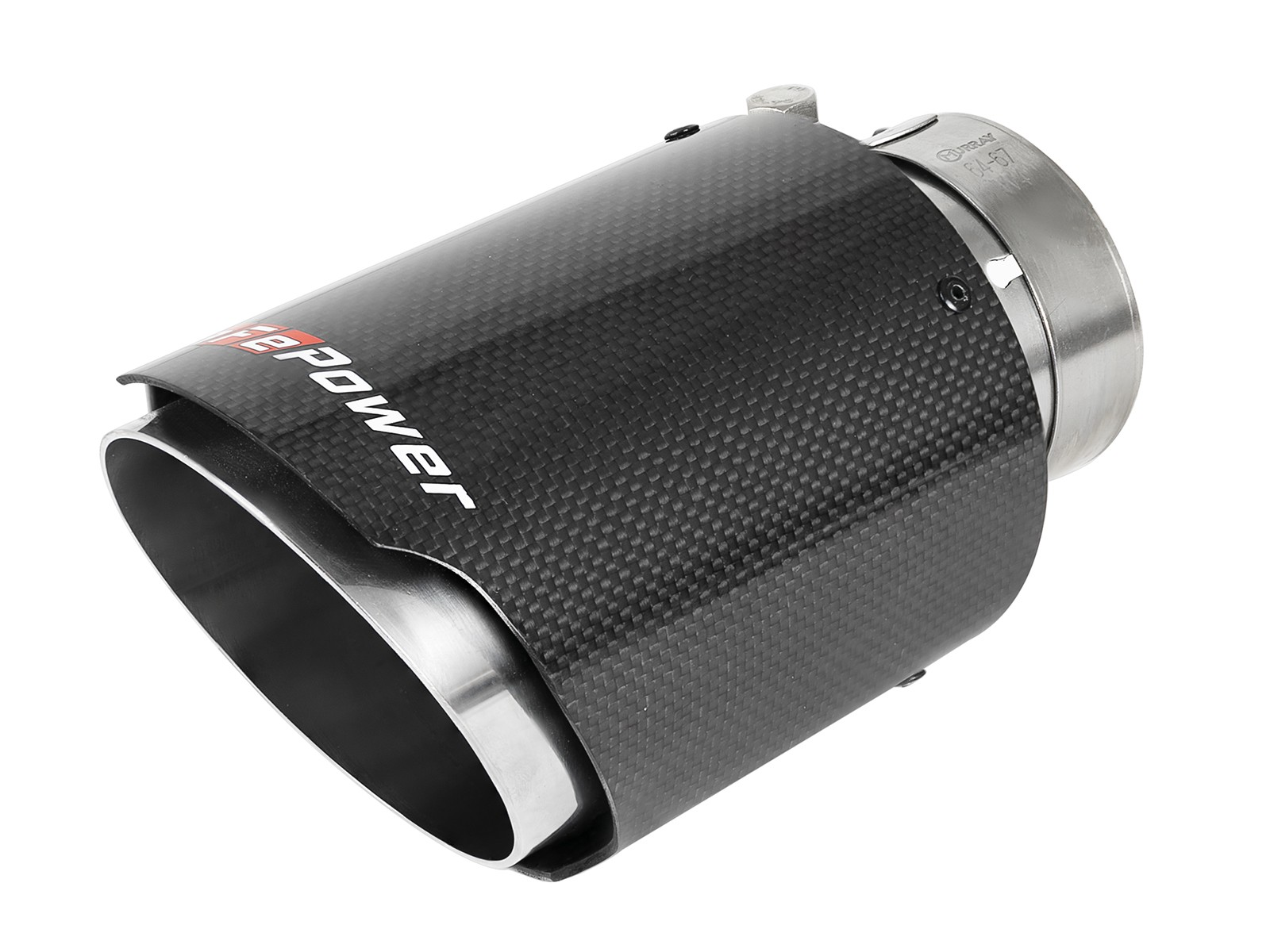 mach force xp 2 1 2 stainless steel carbon fiber exhaust tip