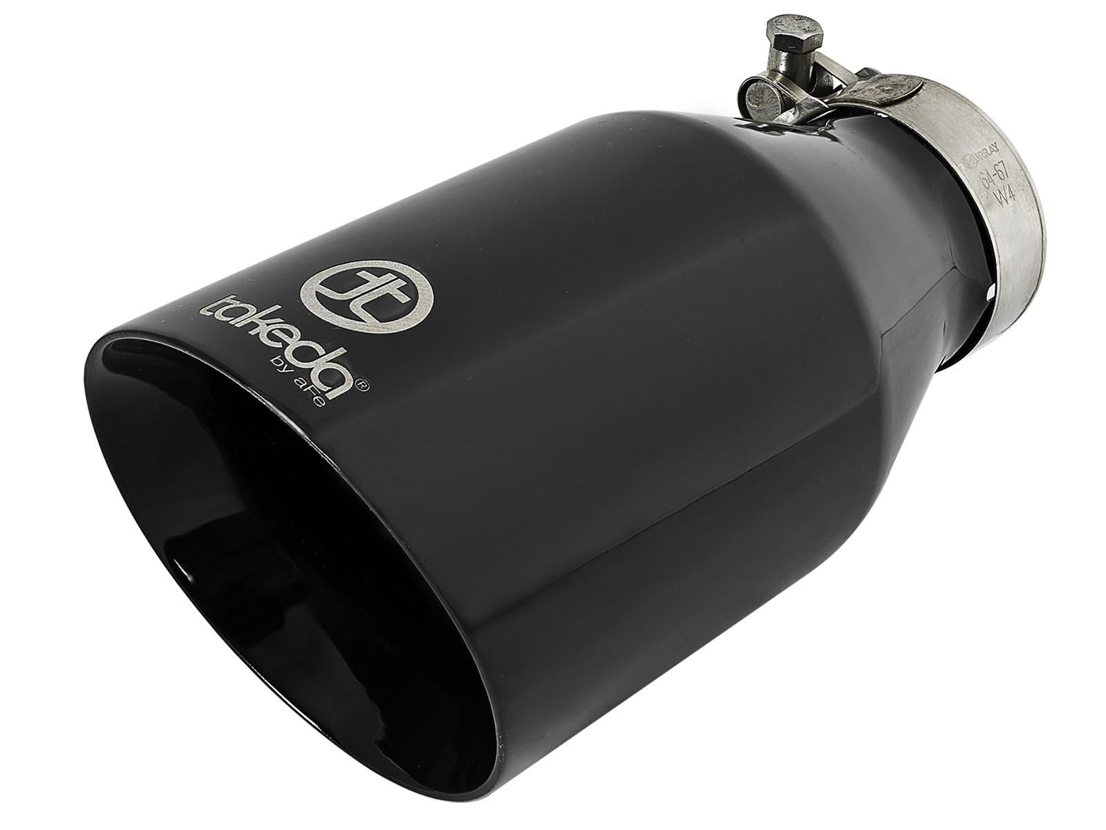 takeda 2 1 2 304 stainless steel exhaust tip