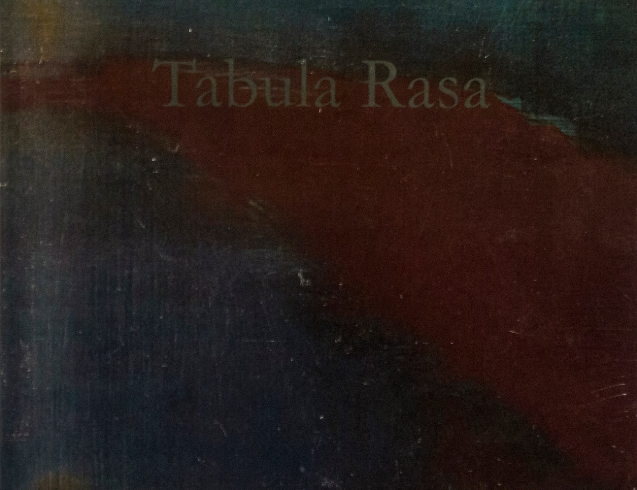 "Aferro Publication No. 9, ""Tabula Rasa"""