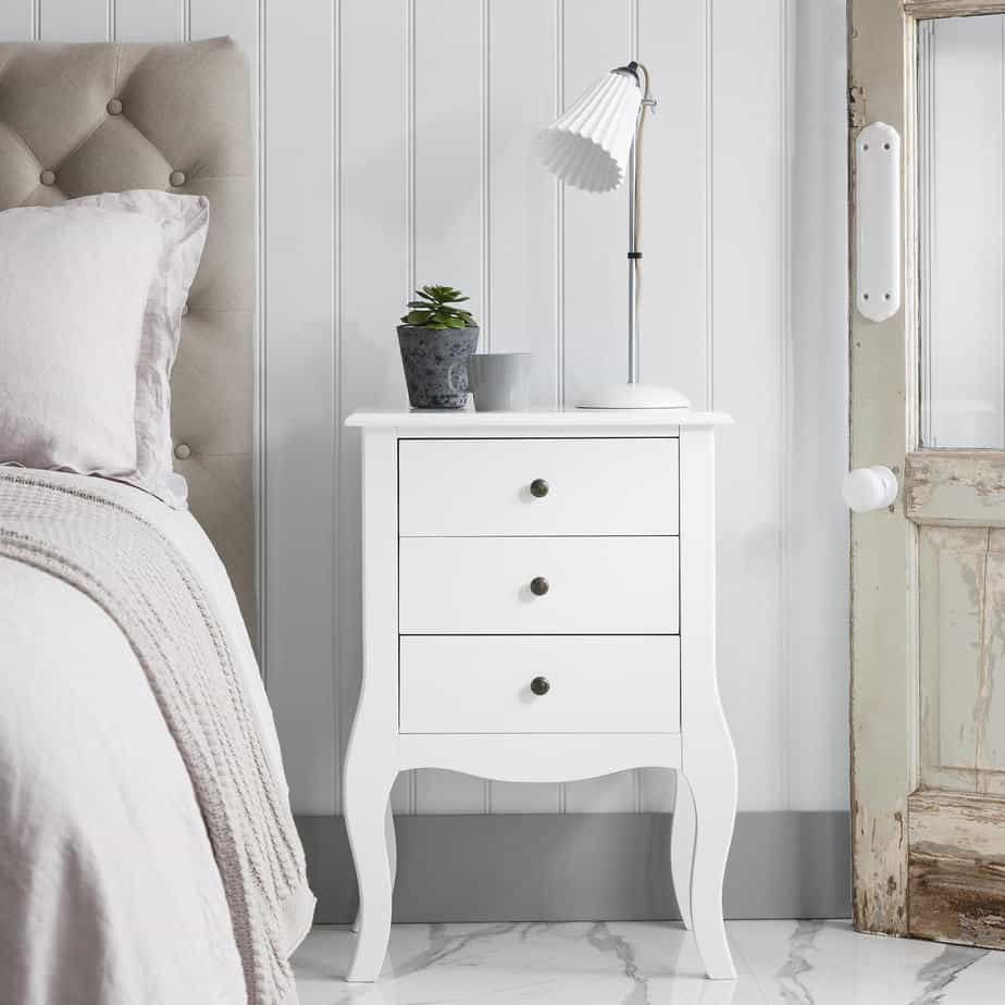 Classical white bedroom furniture