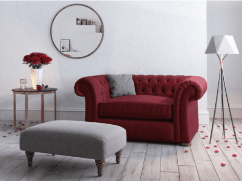 Love Seats from Harveys – perfect for couples who just want to cuddle