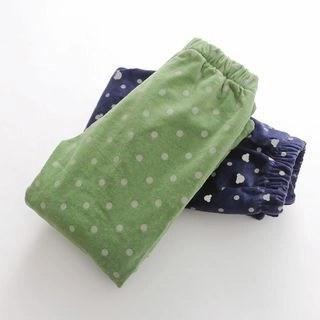 Seashells Kids Kids Fleece-Lined Printed Pants N/A