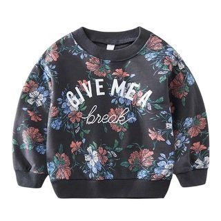 DEARIE Kids Flower Print Pullover N/A