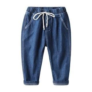 DEARIE Kids Drawstring Jeans N/A
