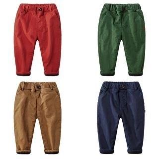 DEARIE Kids Plain Band Waist Pants N/A