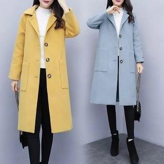 Sienne Buttoned Long Coat