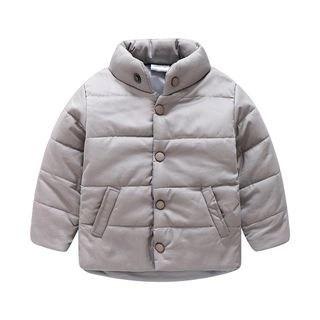 Seashells Kids Kids Stand Collar Padded Coat N/A