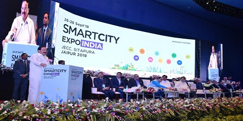 First Smart City Expo India-2018 inaugurated in Jaipur by Vice President