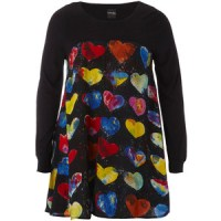Fashion Failure - Beth Ditto Heart Dress